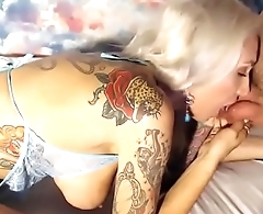 KINKYGODDESSES  sibling blonde fucks with a guy at the camera