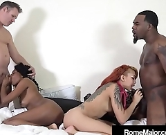 2 Tight Ebony Babes Banged By Rome Major &amp_ Tommy Utah!