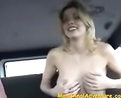 Busty Milf Kelly Anal Interview
