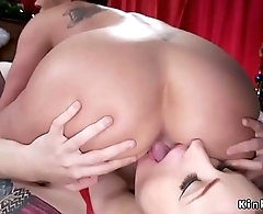 Rimming and anal fucking lesbians