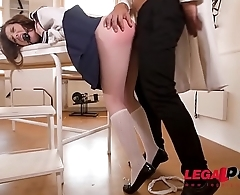 Submissive Teen Monika Wild Anal Fisted And Ass Fucked To The Extreme GP087