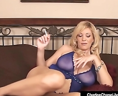 Mature Milf Charlee Chase Finger Fucks Her Pussy Smoking Cig