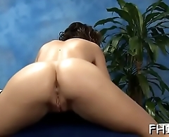 Sexy 18 year old gets fucked hard by her massage therapist!