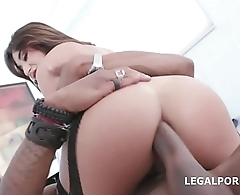 Cock Hungry Slut Isabella Nice Balls Deep Anal and Gapes