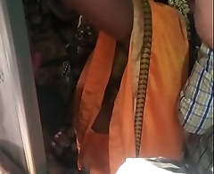 Train sex, Hot aunty rubbing her pussy and boobs on unknown person in train