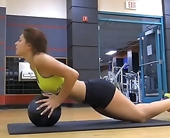 Leah gotti from blacked to working out her ass hot and sexy