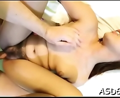 Cock-starved little cutie cannot stop riding this sexy dick