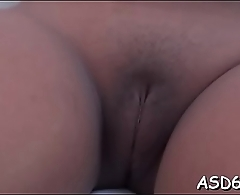 Curvaceous oriental bitch gets screwed in various positions