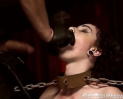 Kinky Lydia Black punished with hard dicking by hung stud