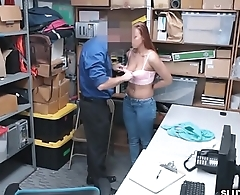 Ornella'_s tight pussy pounded by officer in charge