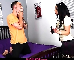 Karups - Busty MILF Sheena Ryder Fucks Sons Friend