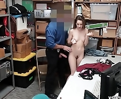 Kimmy Granger riding the LP Officers cock like a cherry on top!