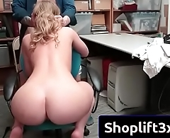 Daisy Stone in hard sex with strnager mall cop