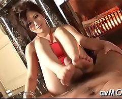 Young mother i'_d like to fuck gets boned with fat dildo and a biggest cock to sucks