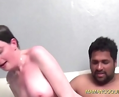 Gangbang very hard for cougar in need of sex