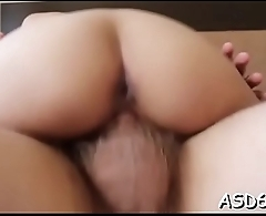 Guy rams cunt of a petite thai bitch and bangs her rough