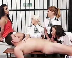 Uniformed cops suck cock