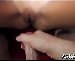 Horny thai playgirl spreads her thighs to get pussy fingered