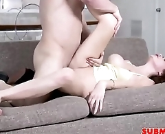 Naughty Teenager Extreme Sex On Couch