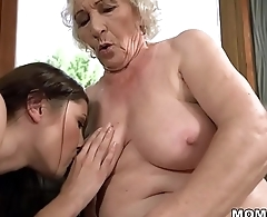 Old woman Norma and her younger lesbian friend Linda Love