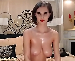Huge boobs babe cam show
