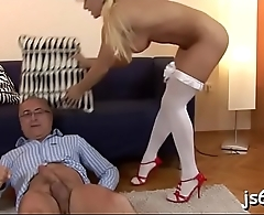 Sexy young piece of ass enjoys a hardcore fuck session